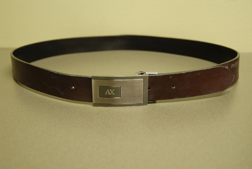 Armani Exchange Belt Found at Crime Scene